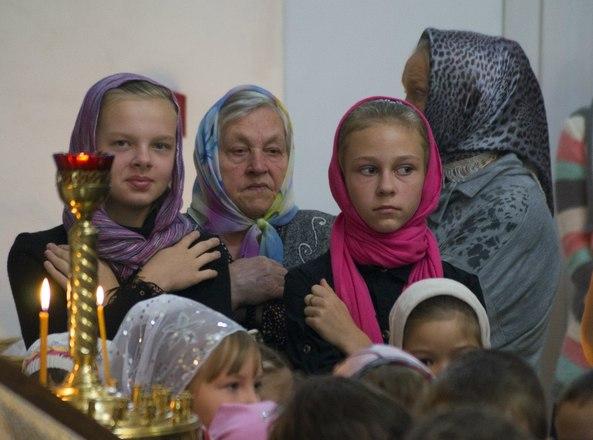 Молебен на начало учебного года для учащихся воскресной школы