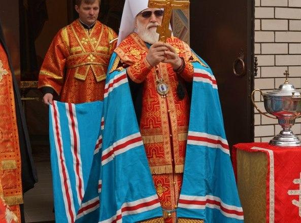 Освящение часовни в честь святого великомученика Георгия Победоносца