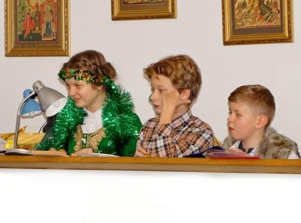 Рождественский праздник в воскресной школе. 07.01.2016  Фоторепортаж -  Бодров Евгений Николаевич